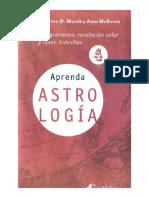 Aprenda Astrologia Volumen 4 Marion D March Y Joan Mcevers