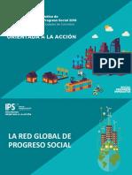 Indice Progreso Social 2016 Cali y Colombia