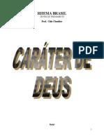 223326810 Apostila Carater de Deus Cida Claudino Pb Corrigido 1 Doc