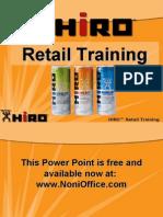 HIRO Retailing Webinar