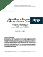 Cómo Llevar al Máximo su Poder de Influencia Personal.pdf