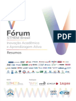 V Forum Sthem Brasil Resumos