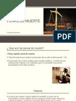 Diapositivas Penal- Pena de muerte según Beccaria