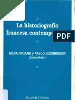 BURGUIERE Historia de Una Historia. El Nacimiento de Anales