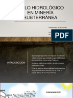 Ciclo hidrológico en minería subterránea.pptx