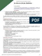 Tratamiento de Las Úlceras Del Pie Diabético - Información