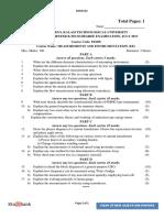Measurement and Instrumentation Sample