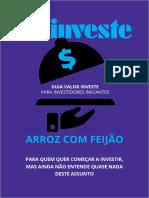 Investimentos - Arroz com Feijão
