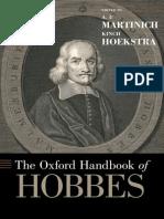 A.P. Martinich - The Oxford Handbook of Hobbes.epub