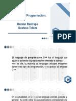 Resumen Lengueje de Programacion C++