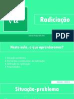 1.Radiciação - Conceito e Propriedades