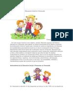 Reseña Historica de la Educacion Inicial en Venezuela.docx