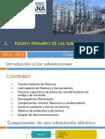 2. Equipo Primario de Las Subestaciones.