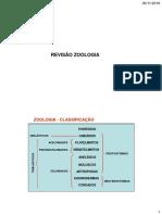 Revisão Zoologia