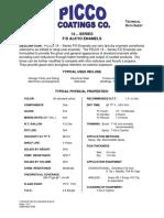 Picco Coatings 14 Series Fast Dry Industrial Enamel