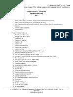 Lista de Materiais Md 2019