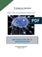 Módulo de Metodologia de La Investigación 2013.27!08!13