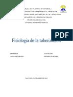 Fisiología tuberización.
