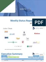 Weekly Summary - 8 to 14 July 2019