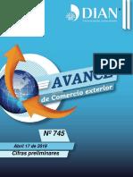 Avance Comercio Exterior 745 17 Abril 2019