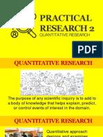 Lesson 1 - Quatitative Research