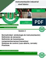 Diplomado de Instrumentacion Sesion 2