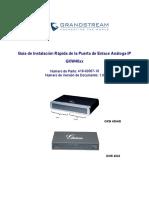 Gxw400x Quickinstall Guide Es