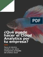 MED - Cloud Analytics - eBook Online