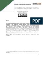 Antonio Mandu-Trajetorias Do Saber e a Transposicao Didatica