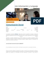 1 Comunicación Información y Lenguaje