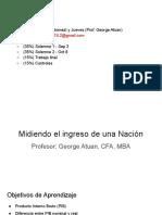 1. PIB, PIB Nominal y Real