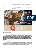 Who is QAnon - An Introduction to the QAnon Phenomenon V2 - By Neon Revolt