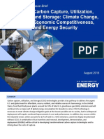 DOE Issue Brief - Carbon Capture Utilization and Storage_2016!08!31
