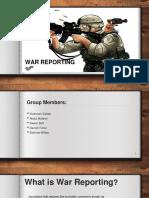 War Reporting