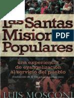 Mosconi, Luis - Las Santas Misiones Populares