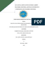 Informe Botonera Cabinas de Experimentacion Final 1
