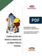 Marco Jurídico de La Obra Publica Federal.