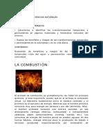 la combustion