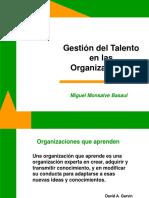 Gestión Del Talento en Las Organizaciones