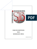 Silabo de Microbiologia Medica 2018-II