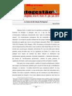 Lições da Revolução Portuguesa