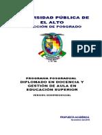 DIPLOMADO Educa Superior Presencial