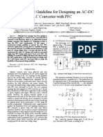 A Mathematical Guideline for Designing an AC DC LLC Converter With PFC