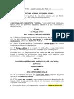 6. Lei Complementar Nº 840.2011 e Respectivas Atualizações - Títulos I e II.