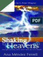 Shaking the Heavens - Ana Mendez Ferrell