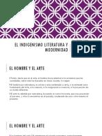 El Indigenismo Literatura y Modernidad (1)