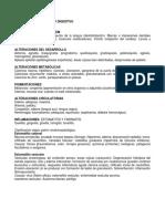 Patologias del sistema digestivo