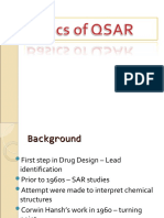 Basics of QSAR