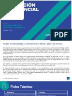 Encuesta Líderes de Opinión Latinoamérica Ipsos - Agosto 2019