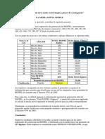"""Taller 3 """"Cálculo Media Móvil Simple y Planes de Contingencia"""""""
